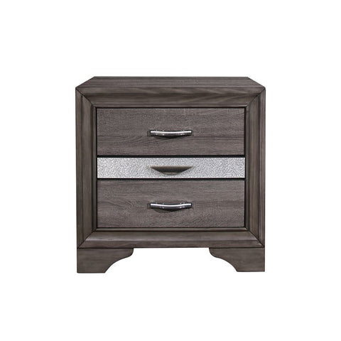 Global Furniture Seville Grey Nightstand