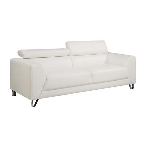 Global Furniture Sofa in Brilliant Pure White