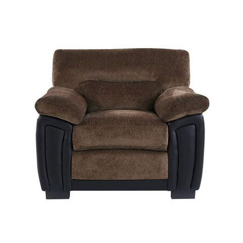 Global Furniture UMC7 Coffee & Brown Two Tone Chair