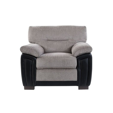 Global Furniture UMC7 Oat & Black Two Tone Chair