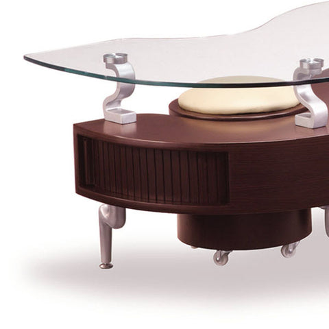 Cappuccino Coffee Table Set.Global Usa T288 2 Piece Coffee Table Set In Mahogany W Cappuccino Stools