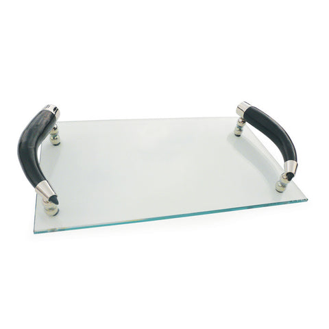 Go Home Curved Horn Handle Tray