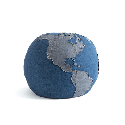Go Home One World Pouf