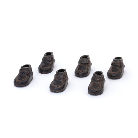 Go Home Set of Six Kids Shoes - Bronze