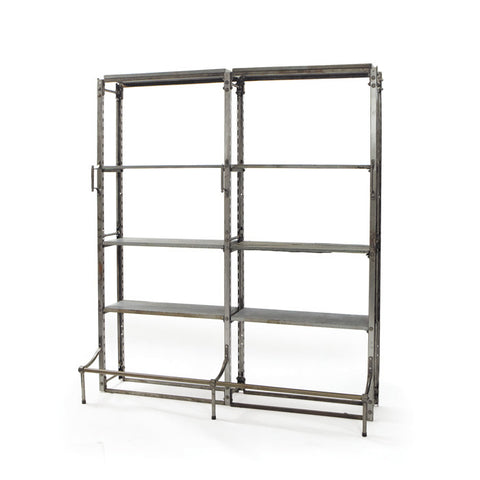 Go Home Warehouse Double Shelves
