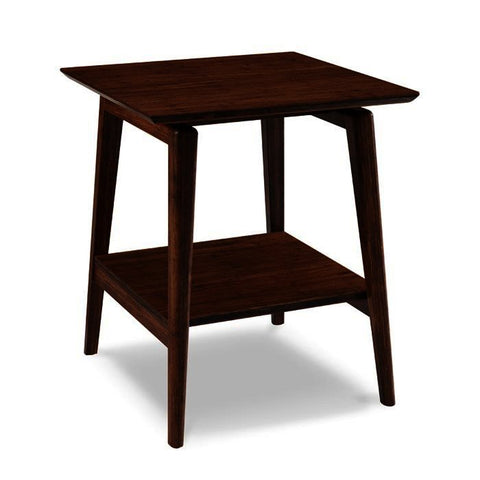 Greenington Antares End Table in Exotic Bamboo