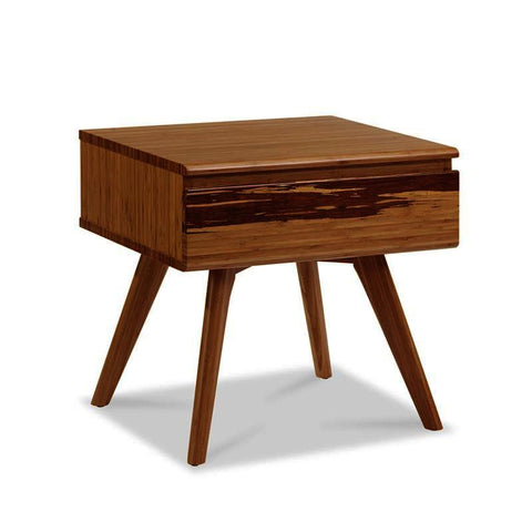 Greenington Azara 1 Drawer Nightstand in Caramelized