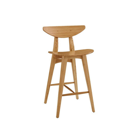 "Greenington Cosmos 30"" Bar Height Stool, Caramelized, (Set of 2)"