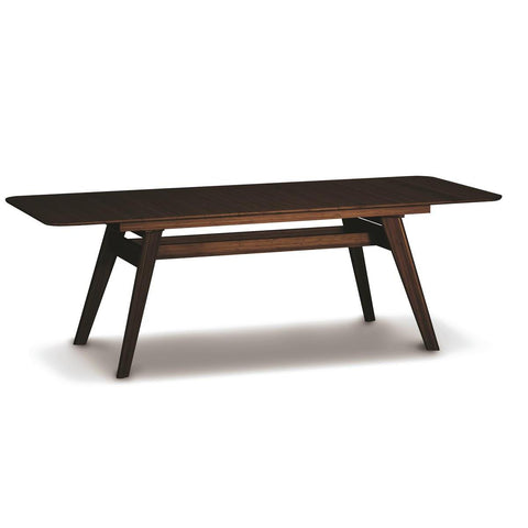 Greenington Currant Extendable Dining Table In Black Walnut