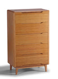 Greenington Currant Five Drawer Chest in Classic Bamboo