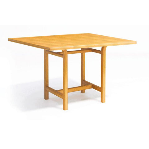 "Greenington Eco-Ridge 60"" counter height dining table in Caramelized"