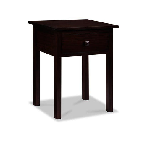 Greenington Hosta 1 Drawer Nightstand in Sable