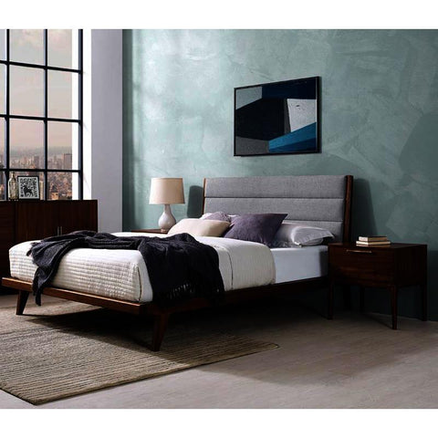 Greenington Mercury 4 Piece Upholstered Platform Bedroom Set in Exotic