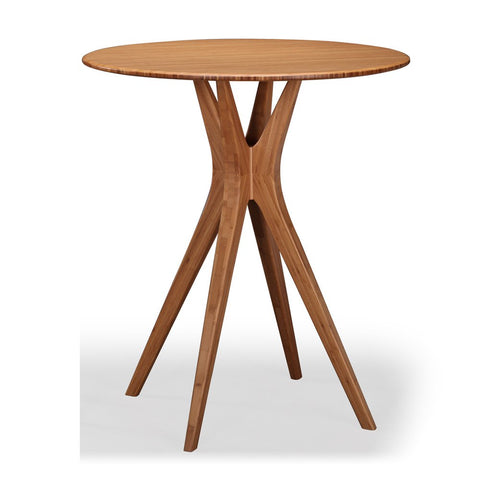 Greenington Mimosa 40 Inch Round Bar Height Table