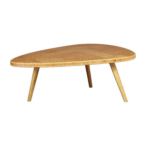 Greenington Roche End Grain Coffee Table in Exotic Amber