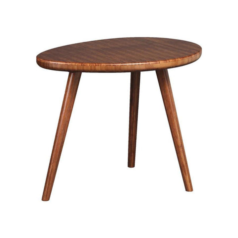 Greenington Roche End Grain End Table in Exotic