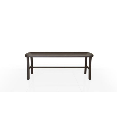 Greenington Tulip Bench in Dark Chocolate