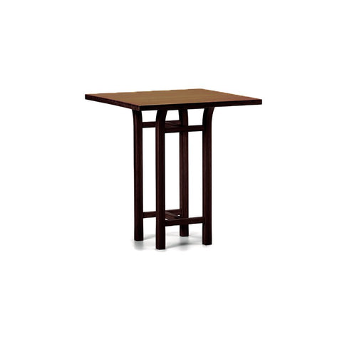 Greenington Tulip Counter Height Table In Black Walnut