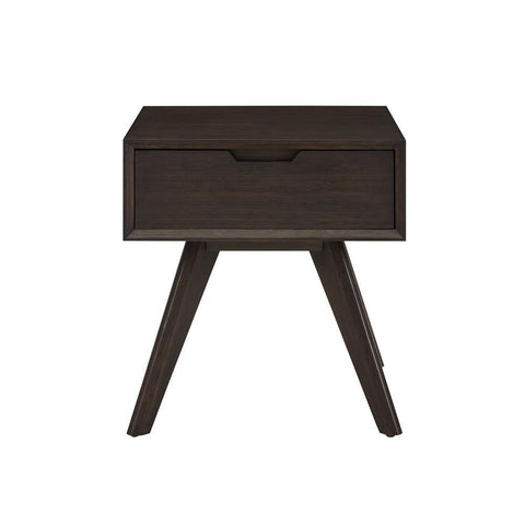 Greenington Vale 1 Drawer Nightstand, Havana