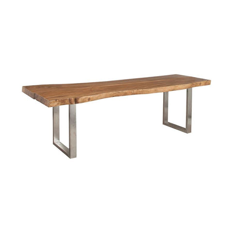 Guild Master 6117003 Reclaimed Slab Wood Dining Table