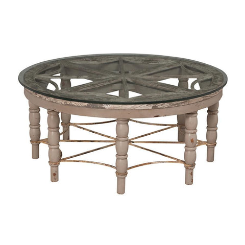 Guild Master 710501 Artifacts Round Cocktail Table