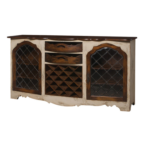 Guild Master Credenza With Wine Storage 600027