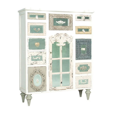 Guild Master Mirror Mosaic Tall Chest