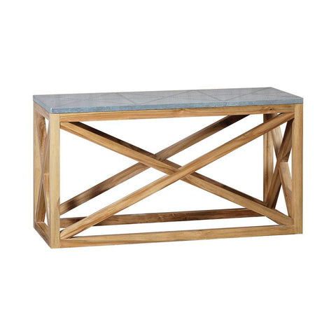 GuildMaster Tin Top Nantucket Console Table