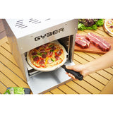 GyberDutton Gas Infrared Grill (Propane) Single, Vertical Cooking and Outdoor Grilling