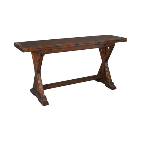 Hammary 090-276 Hidden Treasures Flip Top Console Table