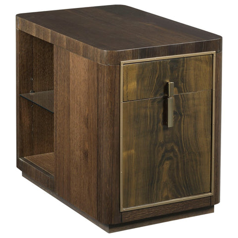 Hammary Ad Modern Organics Kern Drawer End Table