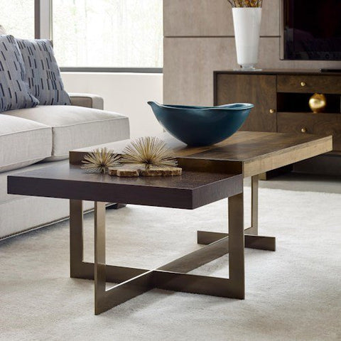 Hammary Ad Modern Organics Ogden Rectangular Cocktail Table