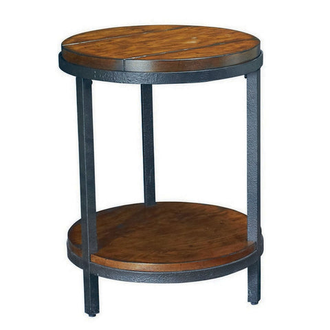 Hammary Baja Round End Table