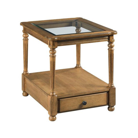 Hammary Candlewood-The Hamilton Rectangular Drawer End Table