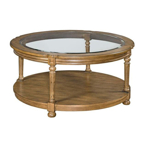 Hammary Candlewood-The Hamilton Round Cocktail Table