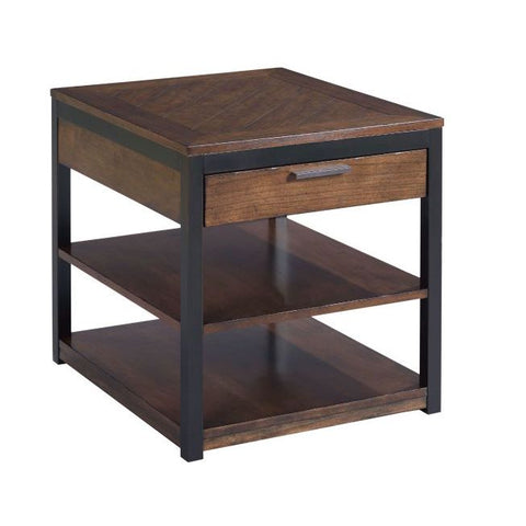 Hammary Franklin Rectangular Drawer End Table