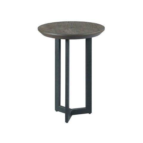 Hammary Graystone Round Chairside Table