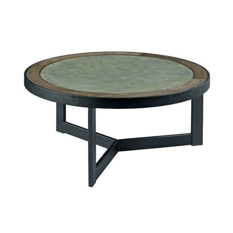 Hammary Graystone Round Cocktail Table