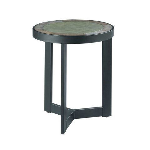 Hammary Graystone Round End Table
