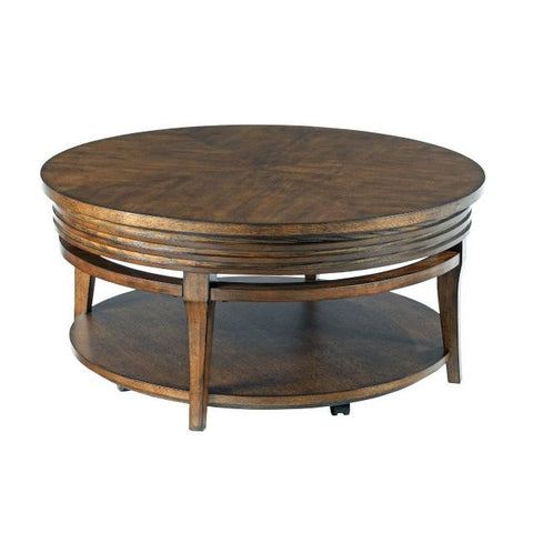 Hammary Groovy Round Cocktail Table