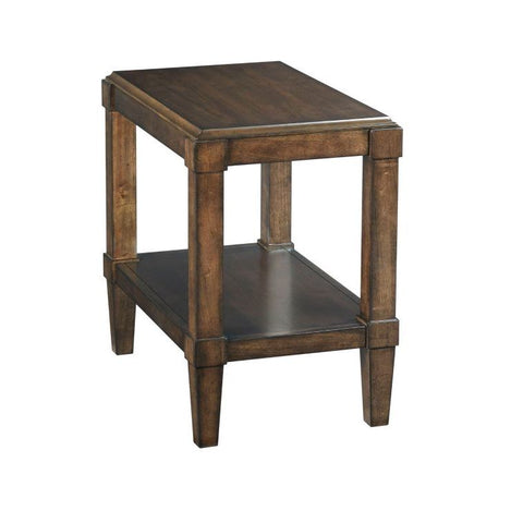 Hammary Halsey Chairside Table
