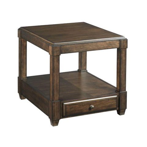 Hammary Halsey Rectangular Drawer End Table