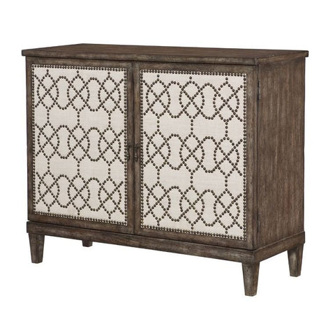 Hammary Hidden Treasures Nailhead Cabinet
