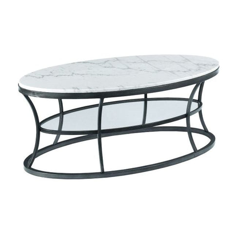 Hammary Impact Oval Cocktail Table