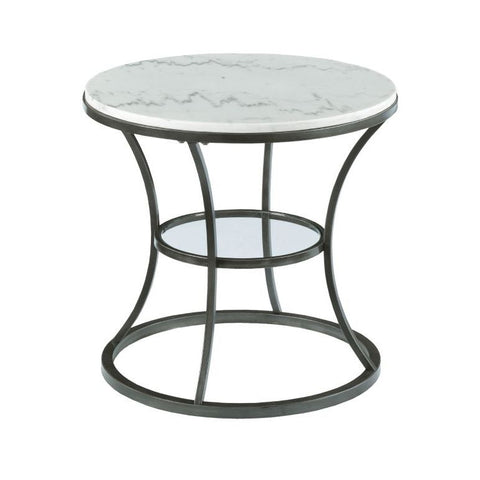 Hammary Impact Round End Table