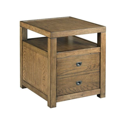 Hammary Juno-The Hamilton Rectangular End Table