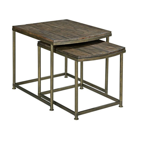 Hammary Leone Nesting End Table