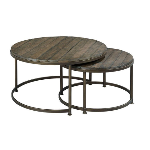 Hammary Leone Round Cocktail Table