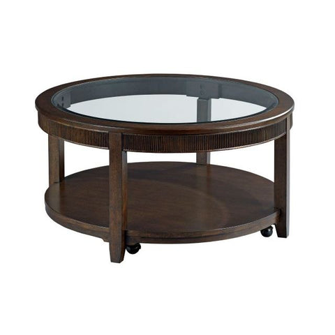 Hammary Mercato-The Hamilton Round Cocktail Table