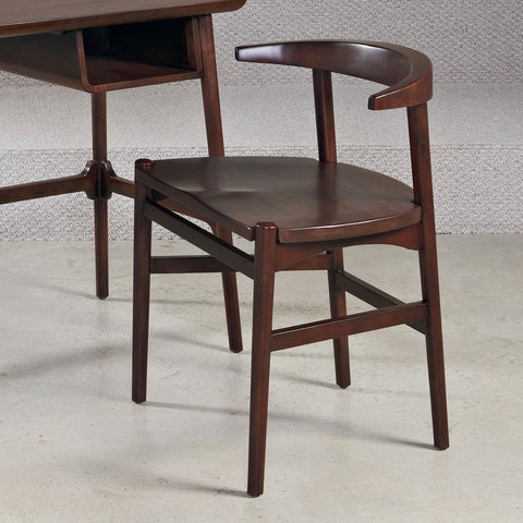 Hammary Mila Desk Chair in Burnished Copper